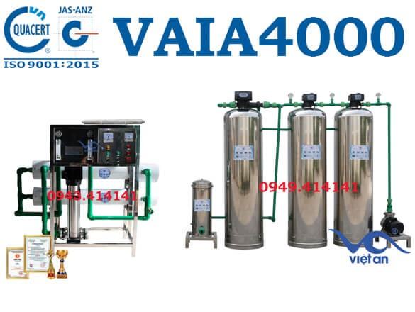 Dây chuyền lọc nước 4000l VAIA4000