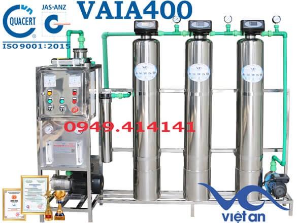 Dây chuyền lọc nước 400l VAIA400