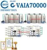 Hệ thống dây chuyền lọc nước RO tinh khiết 70000 lít/h VAIA70000