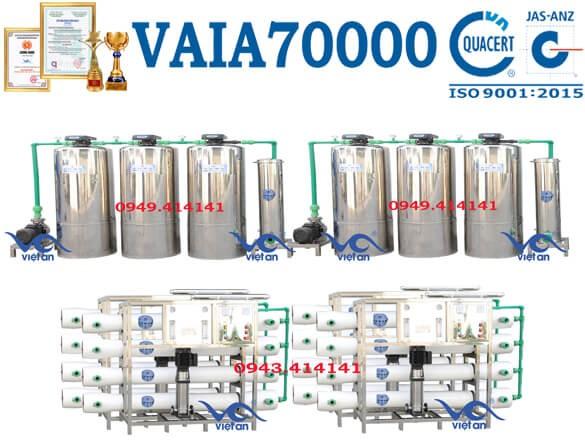 Dây chuyền lọc nước 70000l VAIA70000