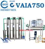 Hệ thống dây chuyền lọc nước RO tinh khiết 750 lít/h VAIA750