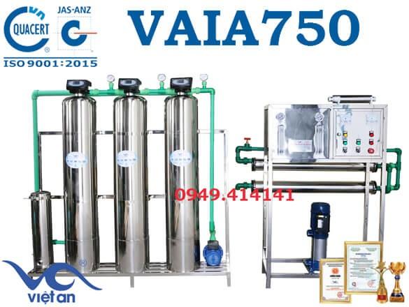 Dây chuyền lọc nước 750l VAIA750