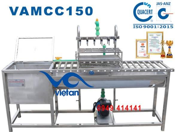 Máy chiết rót 150 chai 500ml một giờ VAMCC150