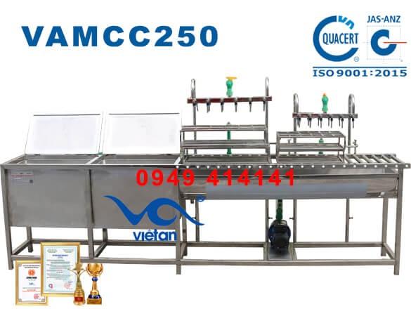Máy chiết rót 250 chai 500ml một giờ VAMCC250