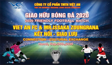 Giao hữu bóng đá 2020