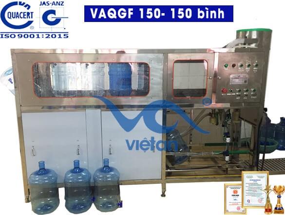 Máy chiết rót đóng bình VAQGF150