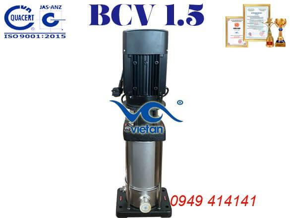 Máy bơm ly tâm trục đứng BCV 1.5