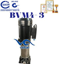Máy bơm trục đứng đa tầng cánh BVM4-3
