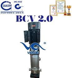 Máy bơm trục đứng đa tầng cánh BCV 2.0