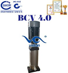 Máy bơm trục đứng đa tầng cánh BCV 4.0