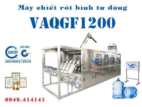 Máy chiết rót bình tự động VAQGF1200