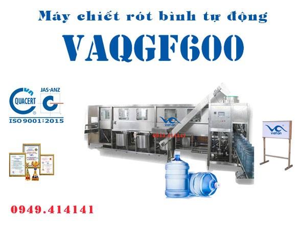 Máy chiết rót bình tự động VAQGF600