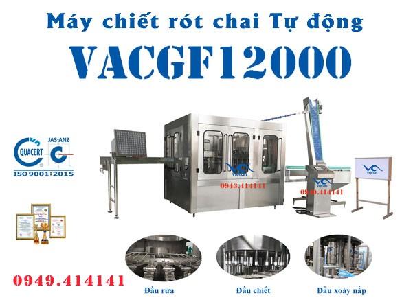 Máy chiết rót chai tự động VACGF12000