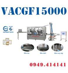 Máy chiết rót chai tự động VACGF15000