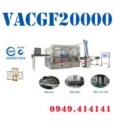 Máy chiết rót chai tự động VACGF20000