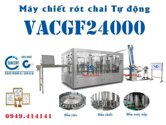 Máy chiết rót chai tự động VACGF24000