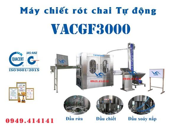 Máy chiết rót chai tự động VACGF3000