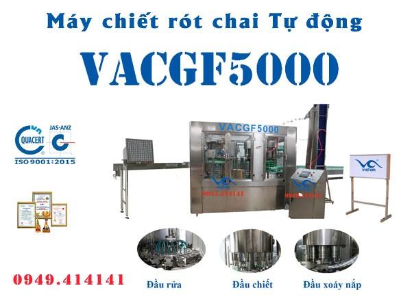 Máy chiết rót chai tự động VACGF5000