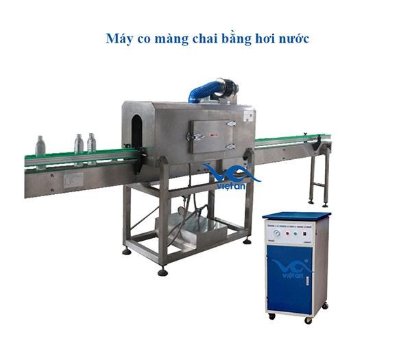 Máy co màng chai bằng hơi nước