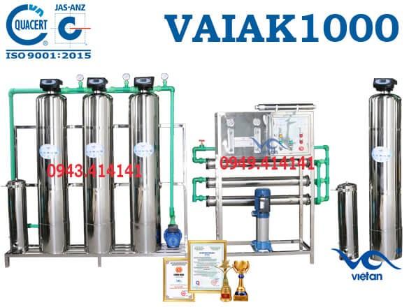 dây chuyền lọc nước tạo khoáng 1000l VAIAK1000