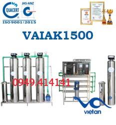 dây chuyền lọc nước tạo khoáng 1500L VAIAK1500