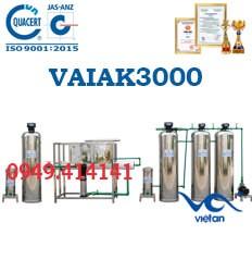 dây chuyền lọc nước tạo khoáng 3000l VAIAK3000