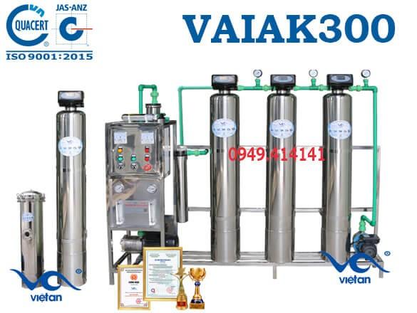 dây chuyền lọc nước tạo khoáng 300l VAIAK300