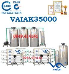 dây chuyền lọc nước tạo khoáng 35000l VAIAK35000