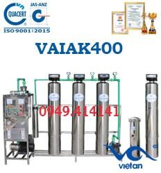 dây chuyền lọc nước tạo khoáng 400l VAIAK400