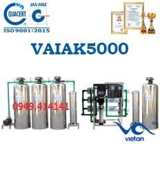 dây chuyền lọc nước tạo khoáng 5000l VAIAK5000