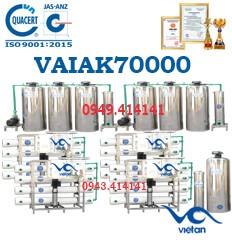 dây chuyền lọc nước tạo khoáng 70000l VAIAK70000