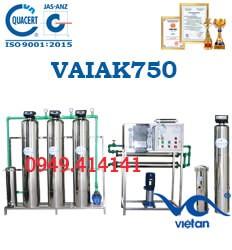 dây chuyền lọc nước tạo khoáng 750l VAIAK750