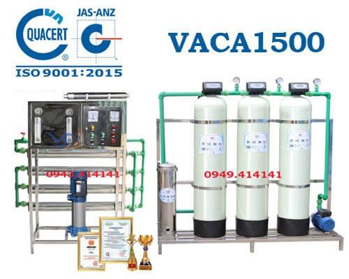 Dây chuyền lọc nước tinh khiết 1500l/h VACA1500