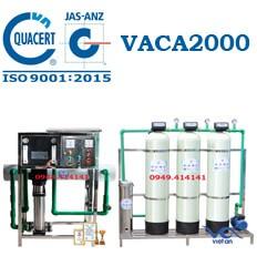 Dây chuyền lọc nước tinh khiết 2000l/h VACA2000