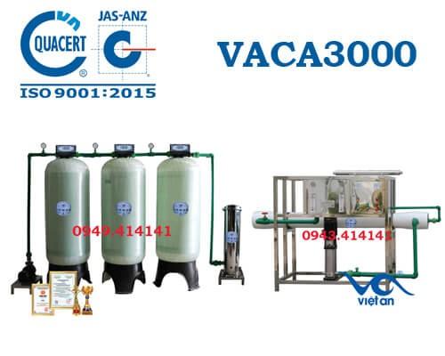 Dây chuyền lọc nước tinh khiết 3000l/h VACA3000