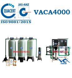Dây chuyền lọc nước tinh khiết 4000l/h VACA4000