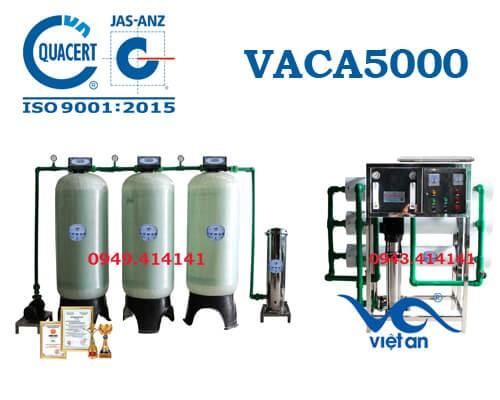 Dây chuyền lọc nước tinh khiết 5000l/h VACA5000