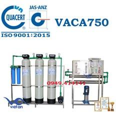 Dây chuyền lọc nước tinh khiết 750l/h VACA750