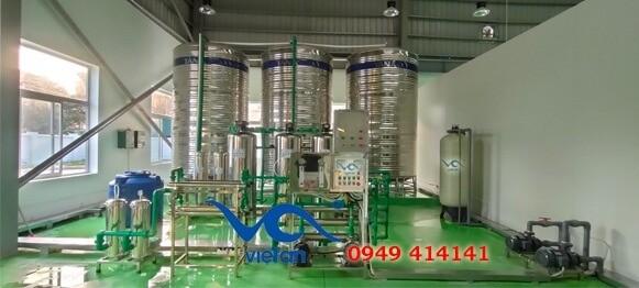 Dây chuyền sản xuất nước khoáng 5000 lít/giờ
