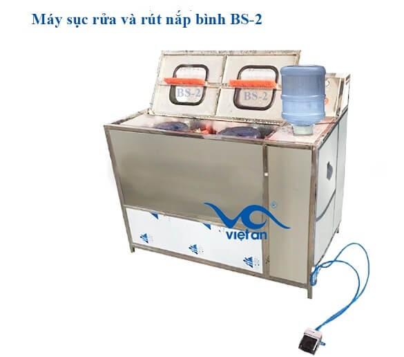 Máy sục rửa và rút nắp bình 5G BS2