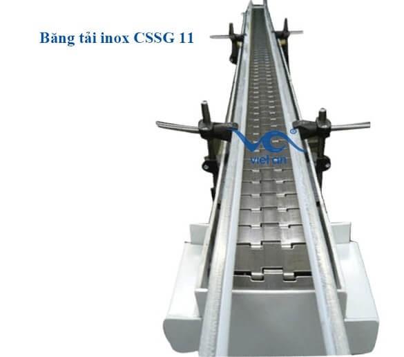 Băng tải inox CSSG11