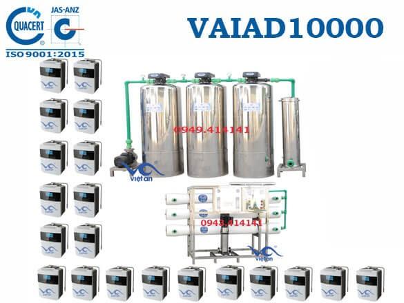 Dây chuyền lọc nước điện giải 10000 l/h VAIAD10000