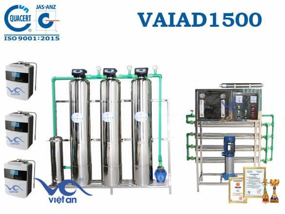 Dây chuyền lọc nước điện giải 1500 l/h VAIAD1500
