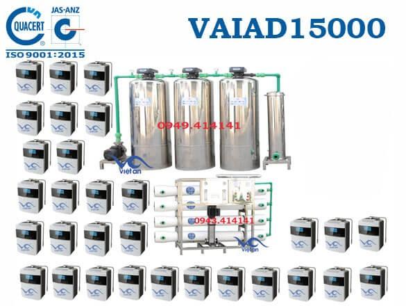 Dây chuyền lọc nước điện giải 15000 l/h VAIAD15000