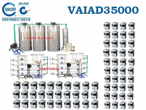 Dây chuyền lọc nước điện giải 35000 l/h VAIAD35000