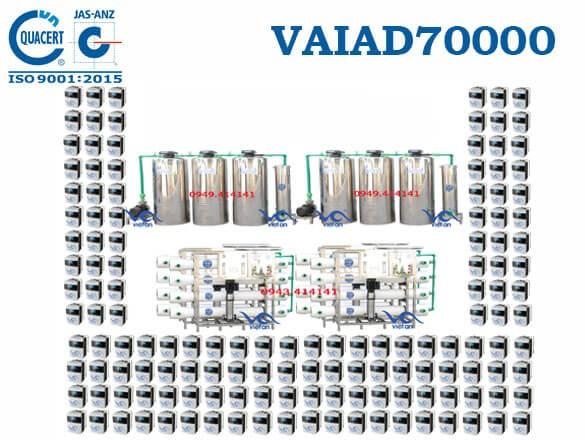 Dây chuyền lọc nước điện giải 70000 l/h VAIAD70000