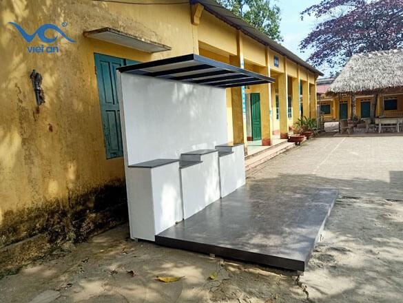Lắp đặt dây chuyền lọc nước cho trường học tại thái nguyên
