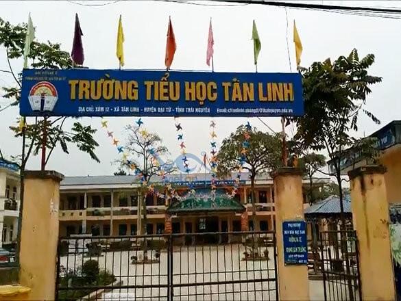 Lắp đặt dây chuyền lọc nước 300 lít cho trường tiểu học Tân Linh, Đại Từ, Thái Nguyên