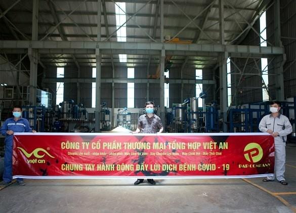 Việt An- chung tay hành động đẩy lùi dịch COVID-19
