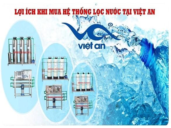 Lợi ích thiết thực khi mua hệ thống lọc nước tại Việt An